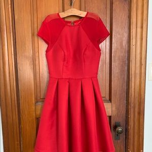 Chi chi red prom/ homecoming dress